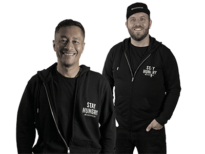 Andy and Joel, co-founders of Codebreak